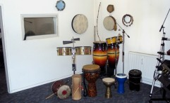 Percussion Recording studio